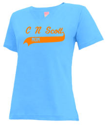 C N Scott Middle School  V-neck Shirts