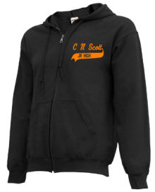 C N Scott Middle School  Zip-up Hoodies
