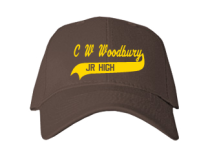 C W Woodbury Junior High School Baseball Caps
