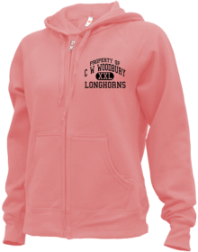 C W Woodbury Junior High School Zip-up Hoodies