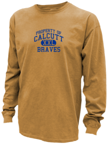 Calcutt Middle School  Pigment Dyed Shirts