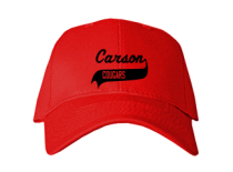 Carson Junior High School Baseball Caps