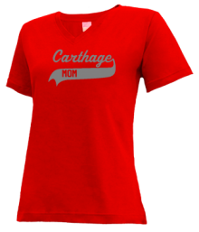 Carthage Elementary School  V-neck Shirts
