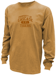 Cascade Junior High School Pigment Dyed Shirts