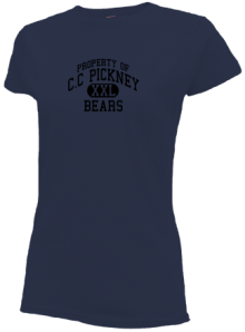 C.c Pickney Elementary School  Slimfit T-Shirts