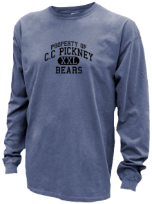 C.c Pickney Elementary School  Pigment Dyed Shirts