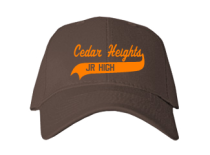 Cedar Heights Junior High School Baseball Caps