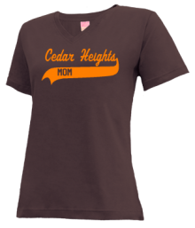 Cedar Heights Junior High School V-neck Shirts