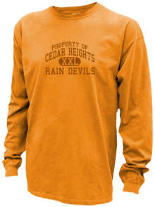 Cedar Heights Junior High School Pigment Dyed Shirts