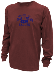 Challenger Middle School  Pigment Dyed Shirts