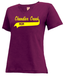 Chandler Creek Elementary School  V-neck Shirts