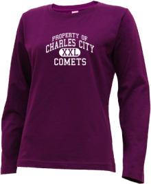 Charles City Junior High School Long Sleeve Shirts