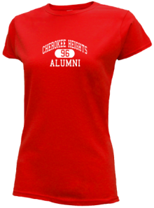 Cherokee Heights Middle School  Slimfit T-Shirts