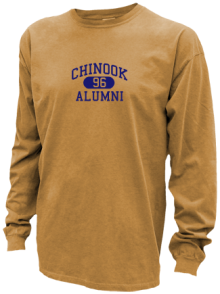 Chinook Middle School  Pigment Dyed Shirts