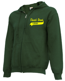 Church Street Elementary School  Zip-up Hoodies