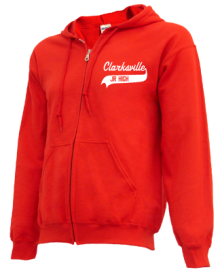 Clarksville Junior High School Zip-up Hoodies