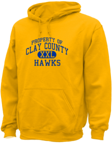 Clay County School  Hoodies