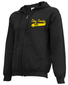Clay County School  Zip-up Hoodies