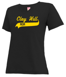 Clay Hill Elementary School  V-neck Shirts