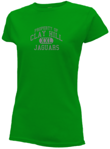 Clay Hill Middle School  Slimfit T-Shirts