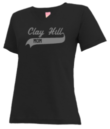 Clay Hill Middle School  V-neck Shirts