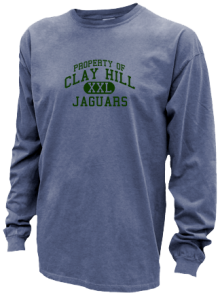 Clay Hill Middle School  Pigment Dyed Shirts