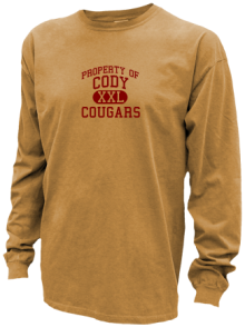 Cody Middle School  Pigment Dyed Shirts