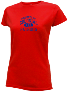 Colonial Middle School  Slimfit T-Shirts