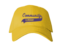 Community Elementary School  Baseball Caps