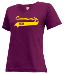 Community Elementary School  V-neck Shirts