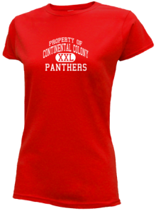 Continental Colony Elementary School  Slimfit T-Shirts