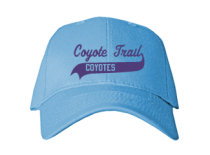 Coyote Trail Elementary School  Baseball Caps