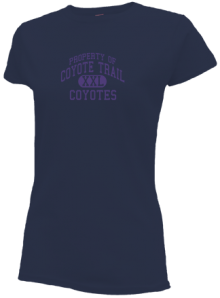 Coyote Trail Elementary School  Slimfit T-Shirts