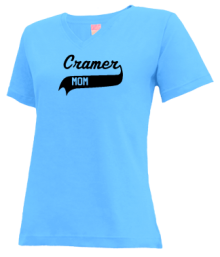 Cramer Junior High School V-neck Shirts