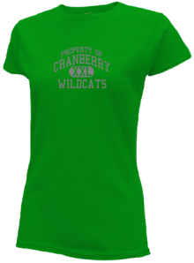 Cranberry Middle School  Slimfit T-Shirts