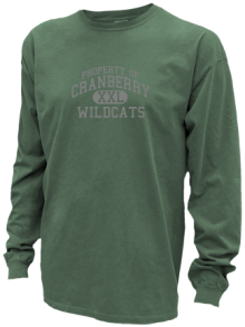 Cranberry Middle School  Pigment Dyed Shirts
