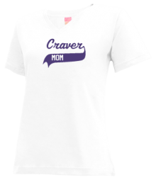 Craver Middle School  V-neck Shirts