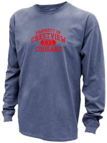 Crestview Middle School  Pigment Dyed Shirts