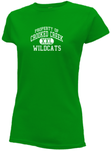 Crooked Creek Elementary School  Slimfit T-Shirts