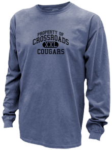 Crossroads Middle School  Pigment Dyed Shirts