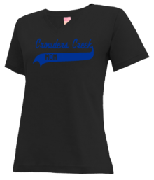 Crowders Creek Elementary School  V-neck Shirts