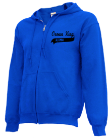 Crown King Elementary School  Zip-up Hoodies