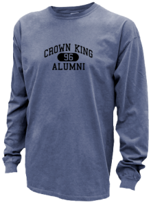 Crown King Elementary School  Pigment Dyed Shirts