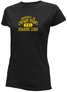 Crown Point Elementary School  Slimfit T-Shirts