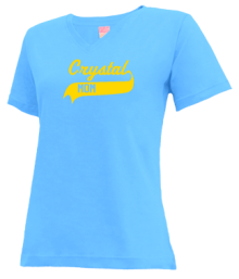Crystal Elementary School  V-neck Shirts