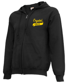 Crystal Elementary School  Zip-up Hoodies