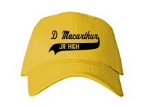 D Macarthur Junior High School Baseball Caps