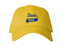 Dake Junior High School Baseball Caps
