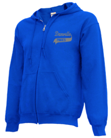 Danville Elementary School  Zip-up Hoodies