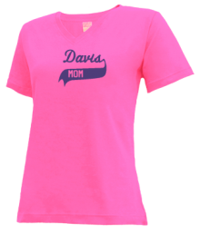 Davis Elementary School  V-neck Shirts